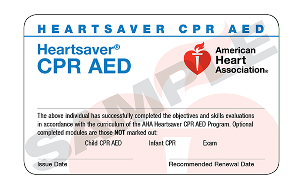 Which Aha Class Do I Need American Heart Association